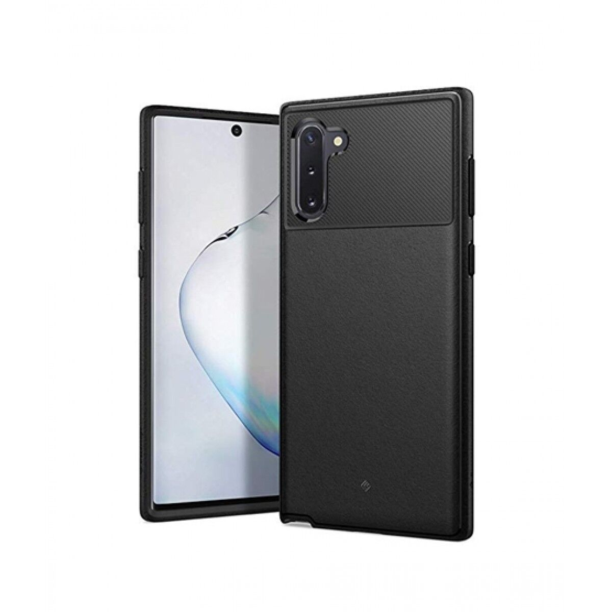 Caseology Vault Matte Black Case For Galaxy Note 10
