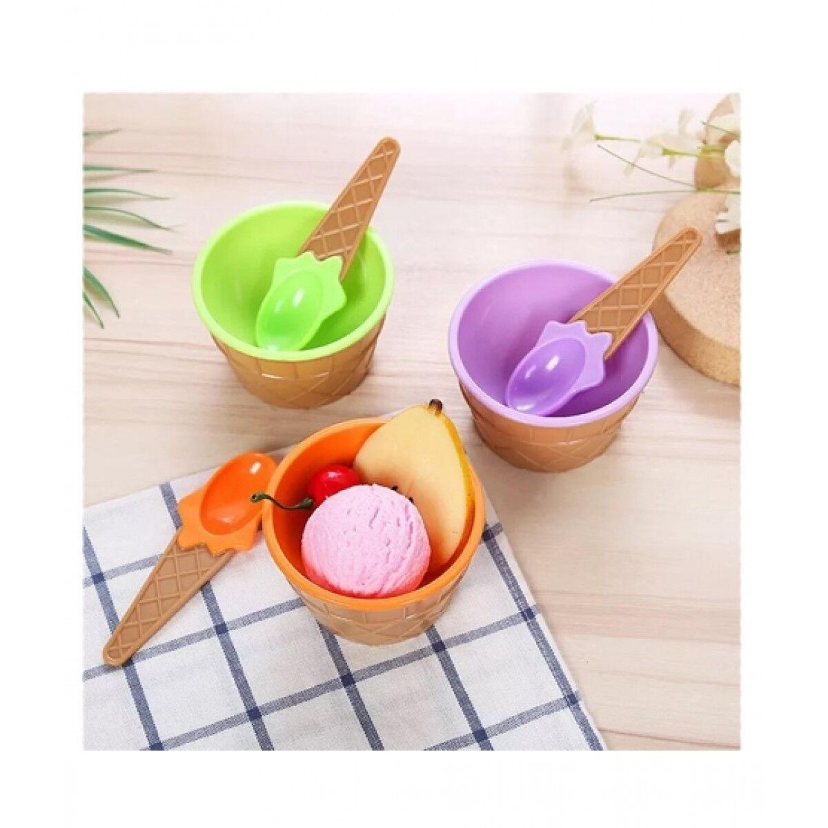 RG Shop Kids Ice Cream Cup Pack of 3