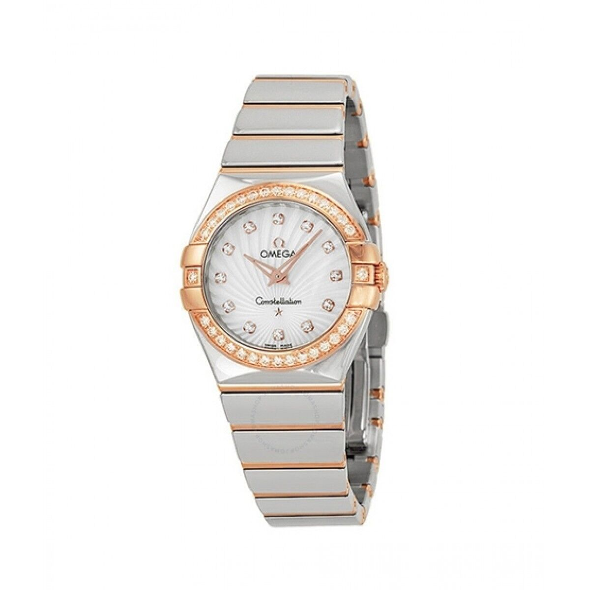 Omega Constellation Women's Watch Two-Tone (123.25.27.60.55.006)