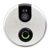 SkyBell Wi-Fi Video Doorbell Version 2.0 - Silver