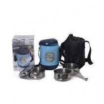 Appollo Carry Lunch Carrier With 3 Steel Bowls