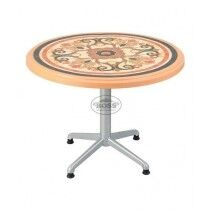"""Boss Steel Plastic Round Table 39"""" With Sticker (BP-290-S-EVE)"""
