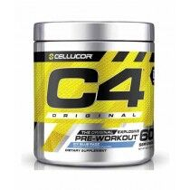 Cellucor C4 Pre Workout Supplement Icy Blue Razz - 60 Servings