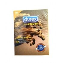 Durex Easy On Ultra Sensitive Condom Pack Of 12 Pcs