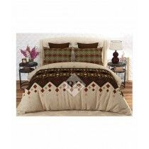 Dynasty King Size Double Bed Sheet (6045-6046)