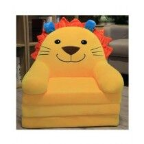 Easy Shop 2 in 1 Cute Children Cartoon Foldable Sofa Bed Yellow