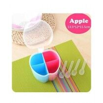 Easy Shop Apple Shape 4 in 1 Jar With Spoon