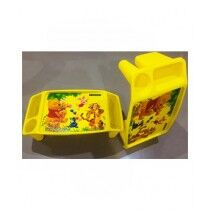 Easy Shop Poo Learning Table For Kids Yellow