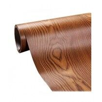 Easy Shop Wooden Water Proof Sticker For Cabinet Brown