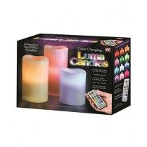 Easy Shop Luma Color Changing Candles With Remote