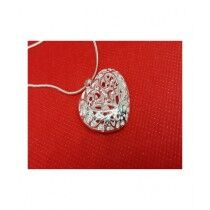 Eizybuy New Listing Hot Selling Heart Charms Necklace Silver (0134)