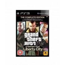 Grand Theft Auto Episodes from Liberty City Game For PS3