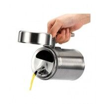 Hakimi Steel Stainless Steel Oil Container 1000ml