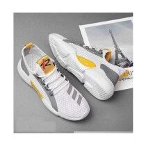 HouseBox Sports Casual Shoes For Men White
