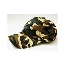 King Camouflage Cap For Unisex (0130)