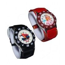 Kureshi Collections Magic Strap Watch For Kids - Pack Of 2