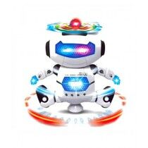 Little Laughs Dancing Robot With 3D Lights Toy For Kids