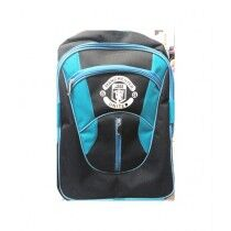 M Toys Manchester United School Bag Blue And Black