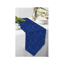 Maguari Jacquard Table Runner Blue (0503)
