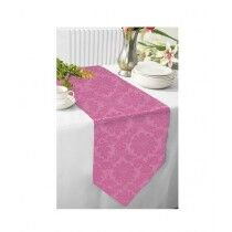 Maguari Jacquard Table Runner Light Pink (0504)