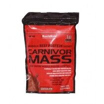 MuscleMeds Anabolic Beef Protein Carnivor Mass Gainer Chocolate Flavour 2lb