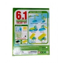 Planet X Educational Solar Kit 6 In 1 Yellow (PX-9072)