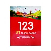 Planet X Numbers Learning 123 Flash Cards 31 Pcs (PX-10571)
