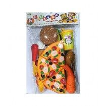 Planet X Pizza & Burger Cooking and Cutting Play Set (PX-10768)
