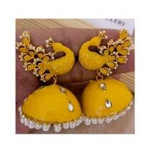 Sale Out Antique Earrings For Women Yellow