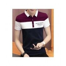 Sale Out Collar T-Shirt For Men (0279)
