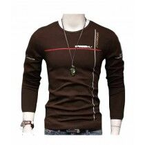 Sale Out Full Sleeve Printed T Shirt For Men