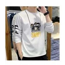 Sale Out Full Sleeve Printed T Shirt For Men (0240)