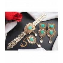 Sale Out Jewellry Set For Women Sea Green (0349)