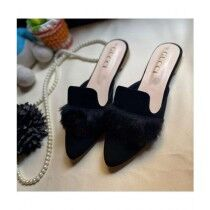 Sale Out Stylish Mules For Women Black