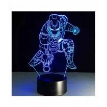 Sale Out Super Heroes 3d Bedroom Night Lamp (0372)