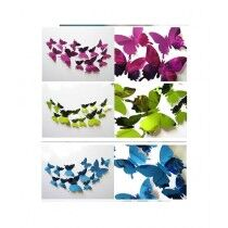 Style Axis 3D Butterfly Wall Stickers 12 Pcs