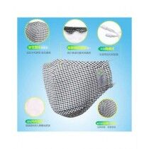 The Mango Shop Washable Reusable Cotton Face For Kids Grey