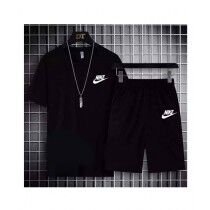 The Smart Shop Nike Printed T Shirt and Shorts For Men