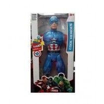 ToysRus Battery Operated Captain America Figure Toy