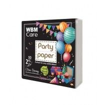 WBM Care Party Paper 2 Ply 50 Sheets